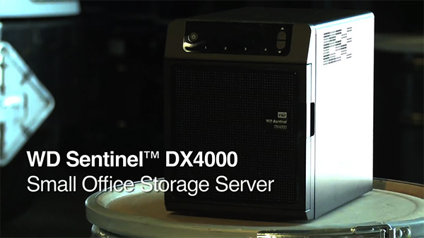 WD Sentinel DX4000 Case Study: Advanced Chemical Transport